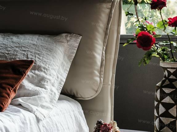 """Кровать с мягким изголовьем AL-0007 """"Amore"""""""