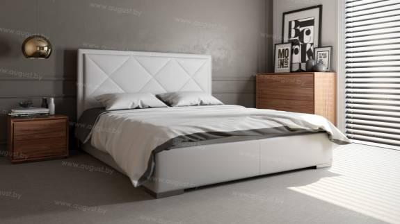 """Кровать с мягким изголовьем AL-0005 """"Patricia"""""""