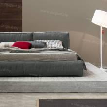 """Кровать с мягким изголовьем AL-0003 """"Sacchetto"""""""