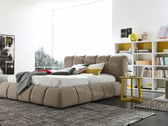 """Кровать с мягким изголовьем AL-0004 """"Paffuto"""""""