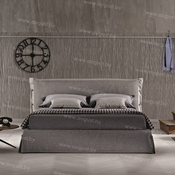 """Кровать с мягким изголовьем AL-0012 """"Mandellina"""""""