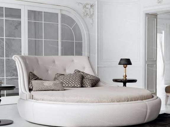 Круглые дизайнерские кровати
