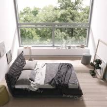 """Кровать с мягким изголовьем AL-0065 """"SharPei"""""""