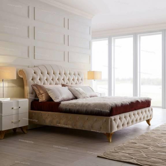 Мягкие дизайнерские кровати