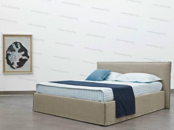 """Кровать с мягким изголовьем AL-0019 """"Bali"""" Standart"""