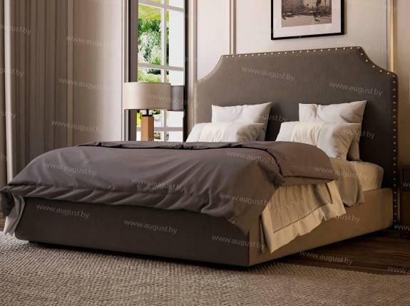 """Кровать с мягким изголовьем AL-0354 """"Madrid"""""""