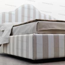 """Кровать с мягким изголовьем AL-0355 """"Santa Lucia"""""""