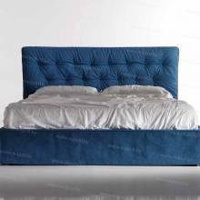 """Кровать с мягким изголовьем AL-0357 """"Vision""""."""
