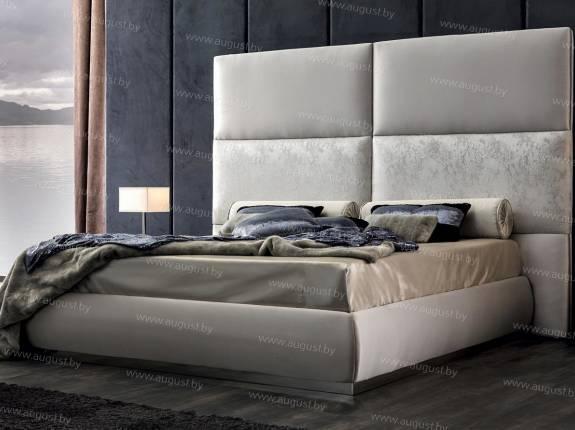 """Кровать с мягким изголовьем AL-0031 """"Massimo"""""""