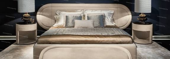 """Кровать с мягким изголовьем AL-0110 """"Bond"""""""