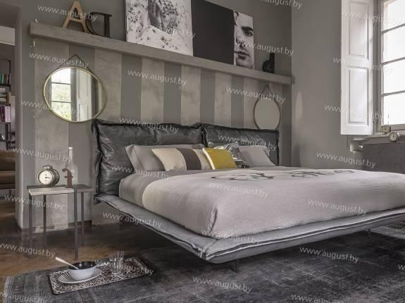 """Кровать с мягким изголовьем AL-0090 """"Las Vegas"""""""