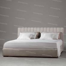 """Кровать с мягким изголовьем AL-0340 """"Velvet"""""""