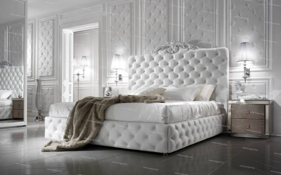 """Кровать с мягким изголовьем AL-0181 """"Sweet Luxury"""""""