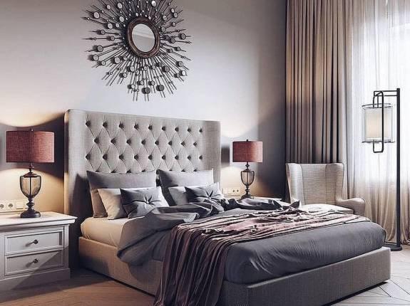 """Кровать с мягким изголовьем AL-0170 """"Samanta"""""""