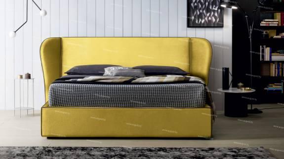 """Кровать с мягким изголовьем AL-0350 """"Isabel"""""""
