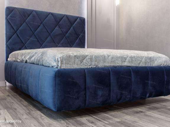 """Кровать с мягким изголовьем AL-0091 """"Chocco"""""""