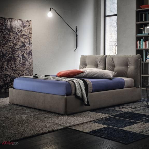 """Кровать с мягким изголовьем AL-0083 """"Clemency"""""""