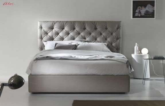 """Кровать с мягким изголовьем AL-0077 """"Graciosa"""""""